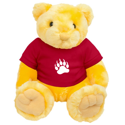 Promotional Knuckles Teddy Bear - Yellow