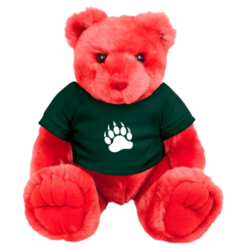 Promotional Knuckles Teddy Bear - Red
