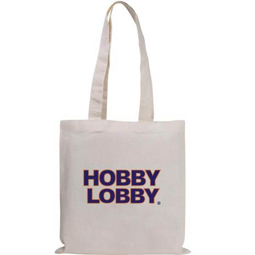 Promotional Natural Magazine Economy Tote