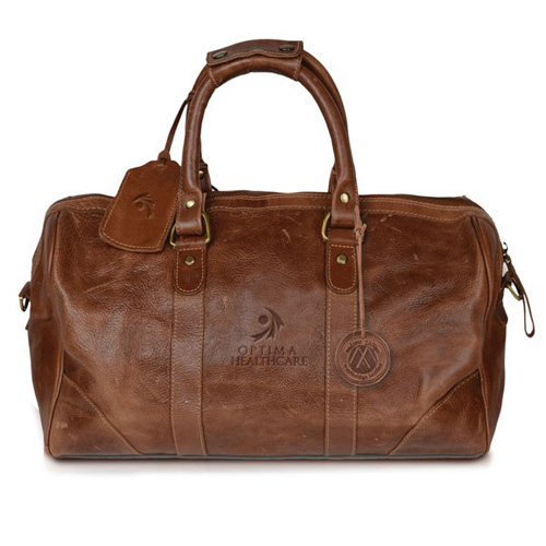 Westbridge Leather Custom Duffel