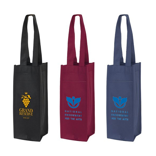 Poly Pro Wine Tote - Single