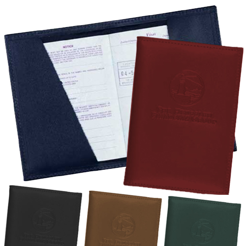 Promotional Leather Passport Cover