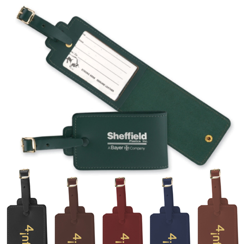 Promotional Deluxe Luggage Tag