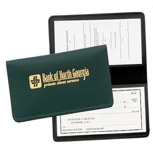 Promotional Checkbook Cover