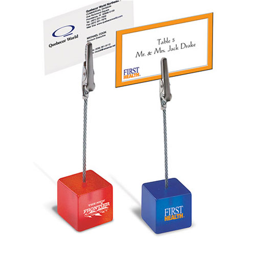 Promotional Note Clip Holder
