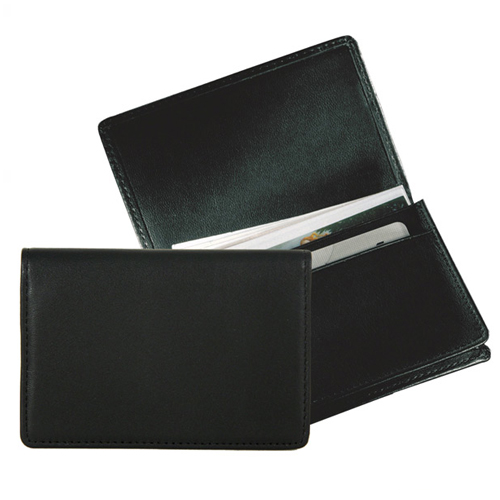 Promotional Fully Gussetted Business Card Case