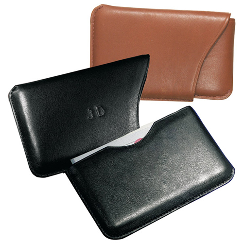 Promotional Slide-out Business Card Case