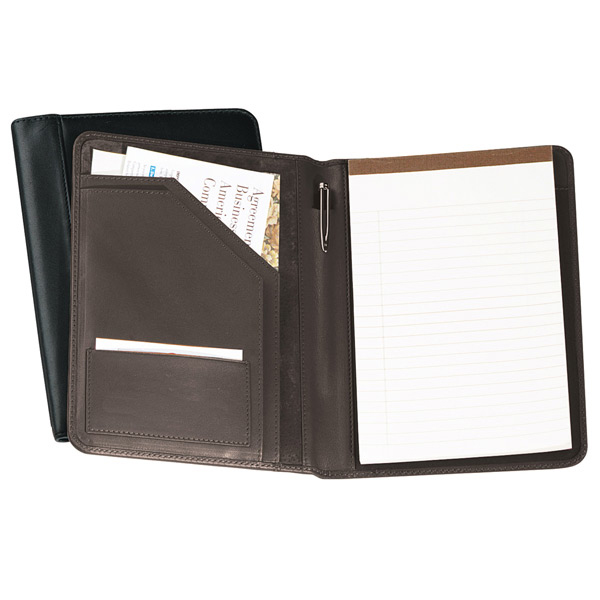 Promotional Jr. Writing Pad Holder-Leather