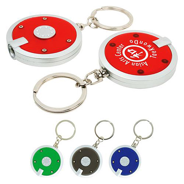 Promotional LED Light Keychain