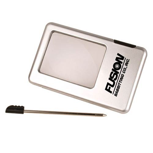Promotional LED Magnifier with Pen