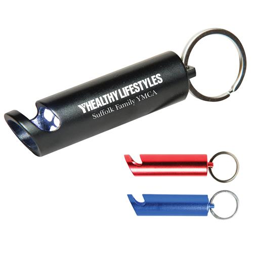 Promotional Aluminum Bottle Opener & Flashlight