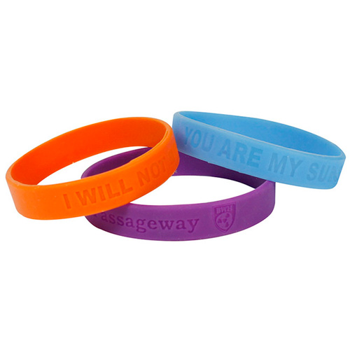 Promotional Silicone Wristband - 1/2