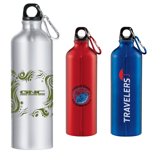 Promotional Santa Fe Aluminum Bottle