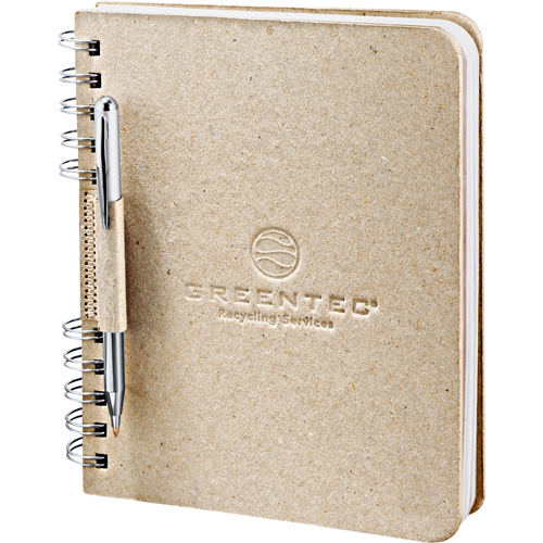 Promotional Recycled Cardboard JournalBook
