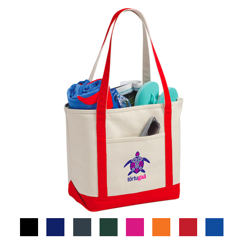 Promotional Premium Heavy Weight Cotton Boat Tote
