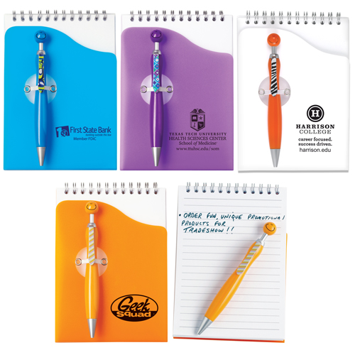 Promotional Swanky Pen and Pad Set