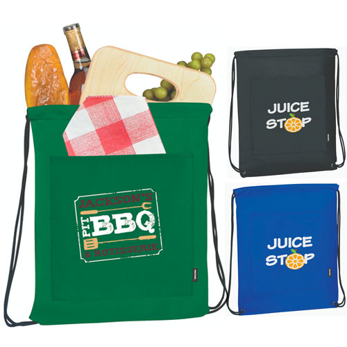 Koozie Drawstring Backpack Kooler