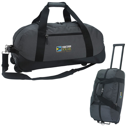 Promotional Deluxe Wheeled Duffel