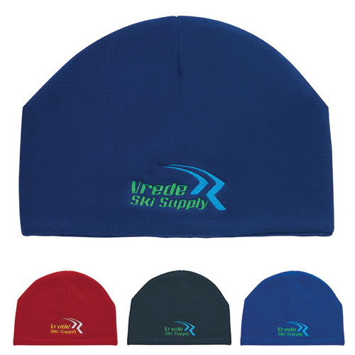 Promotional Double Fleece Layer Beanie