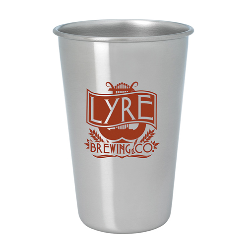 Promotional Stainless Pint Glass