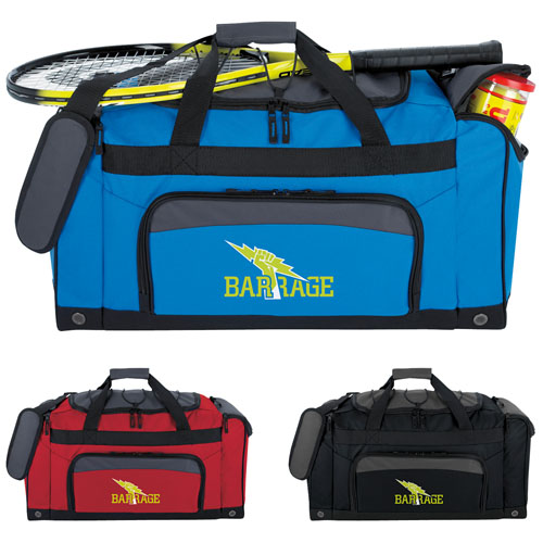 Promotional Bungee Top Duffel