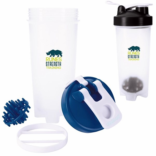 Promotional O2Cool® Shaker Bottle - 30oz.