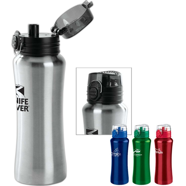 Promotional Stainless Super Sip Bottle 21 oz
