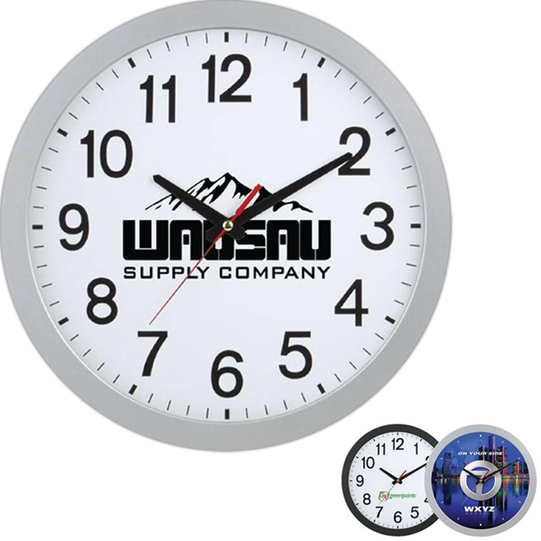 Promotional Slim Wall Clock 12 inch
