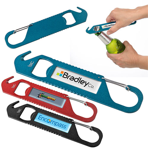 Promotional Quickdraw Carabiner Tool