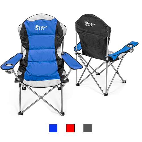 Promotional Go-Everywhere Padded Fold-Up Lounge Chair