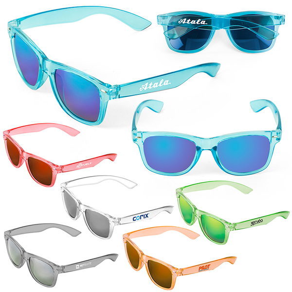 Promotional Waikiki Mirrored Tonal Sunglasses