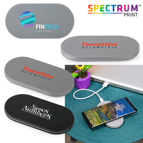Promotional Light-Up Wireless Charger