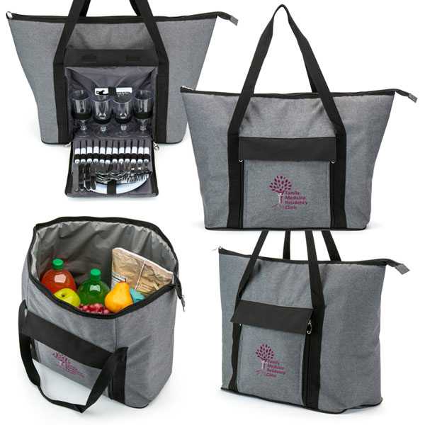 View Image 2 of Large Picnic Tote