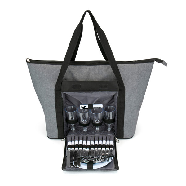 View Image 4 of Large Picnic Tote