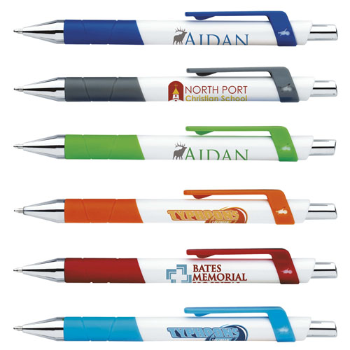 Promotional Bic® Rize Grip Pen