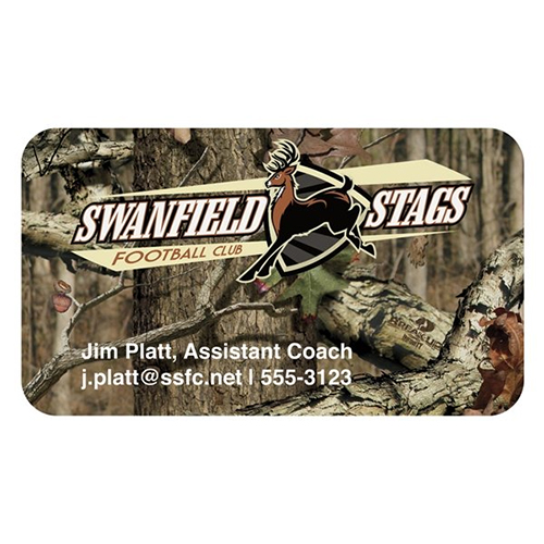 Promotional Mossy Oak® Bic® Business Card Magnet