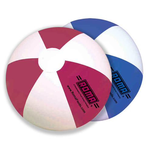 Promotional 16 Inch Two Color Panel Beach Ball