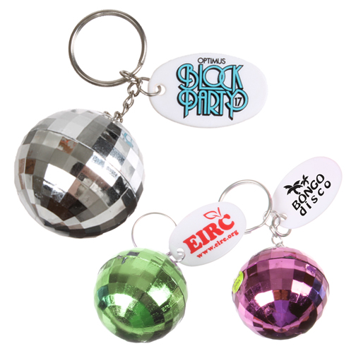 View Image 2 of Disco Ball Keychain