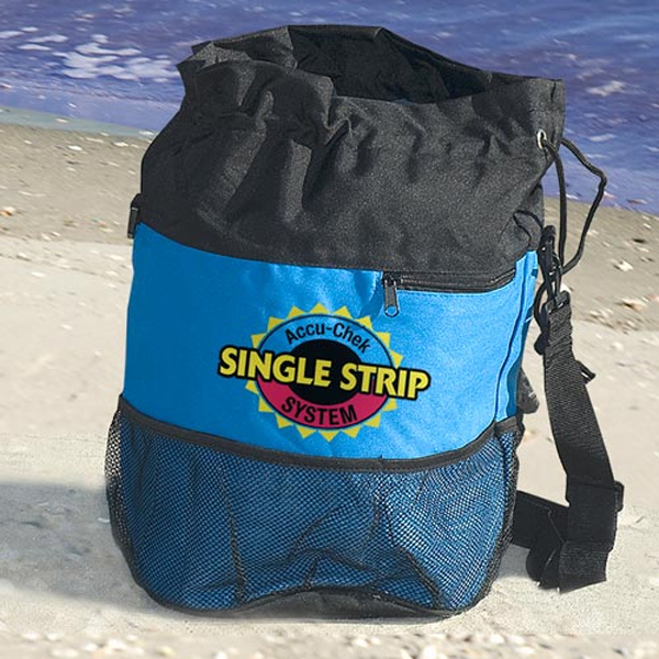 Promotional Barrel Style Beach Bag