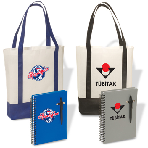 Promotional Tote 'n Pad Combo