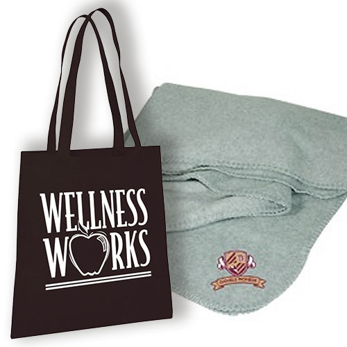 Promotional Tote-A-Blanket Combo