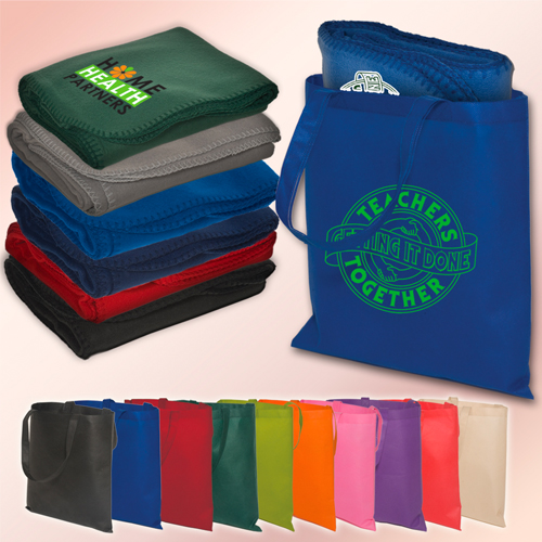 Promotional Econo Tote-A-Blanket Combo