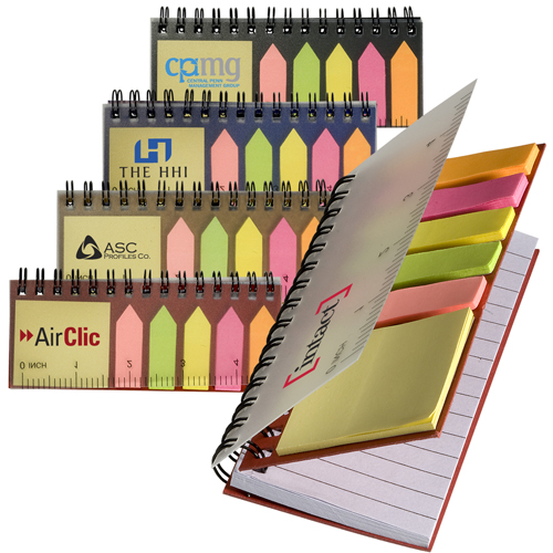 Pocket Jotter with Stickies