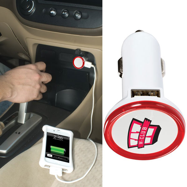 Promotional Commuter USB Car Charger