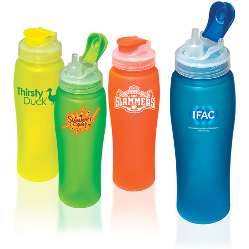 Promotional Frosted Neon Bottle