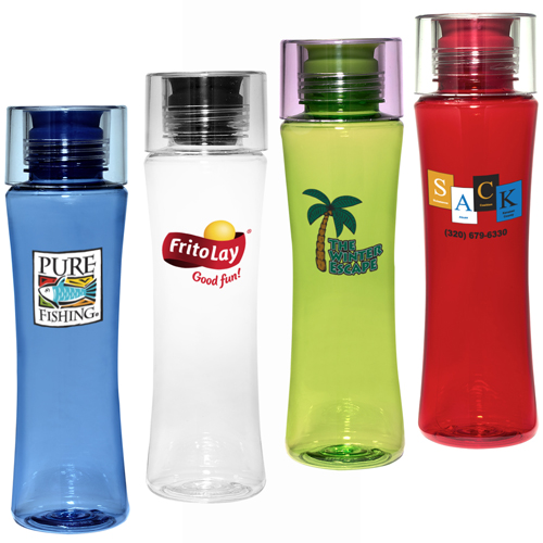Promotional TritanTM Bottle with Silicone Stopper