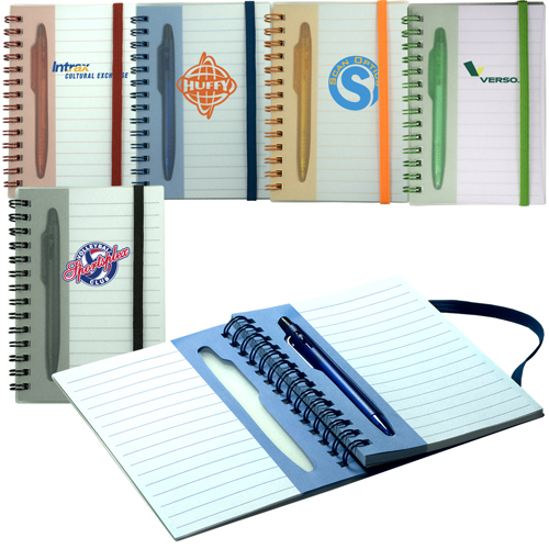 Promotional Mini Stowaway Pen/Journal Set