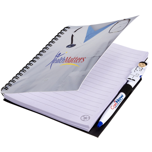 Promotional Doctor Notebook with Doctor Pen