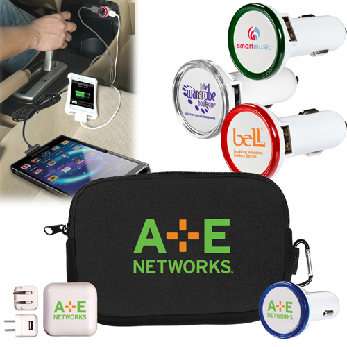 Promotional Travel Chargers Kit