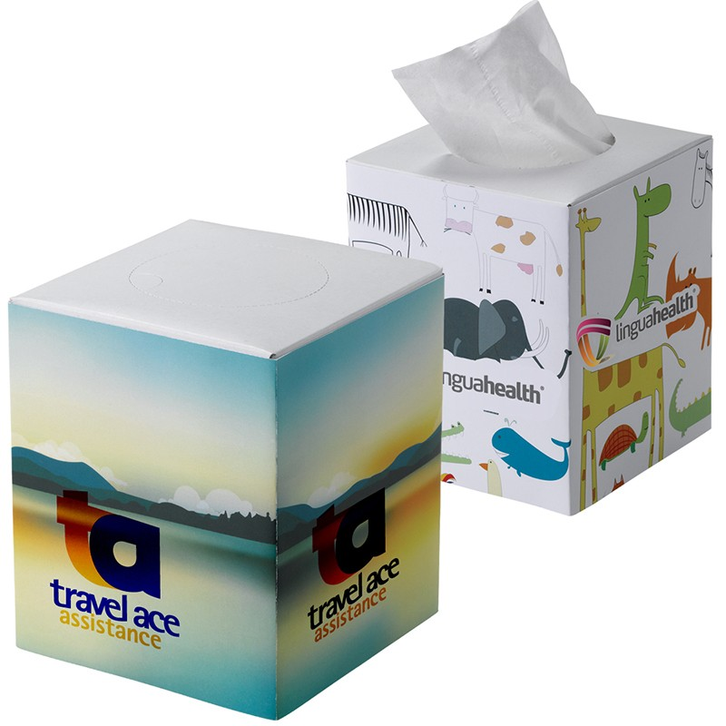 Promotional Cube Tissue Box